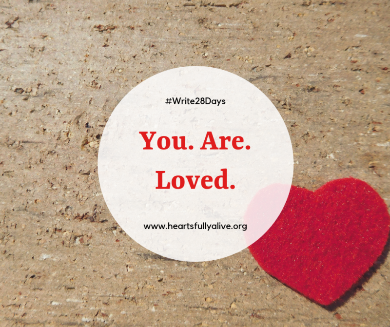 You are loved - Happy Valentine's Day