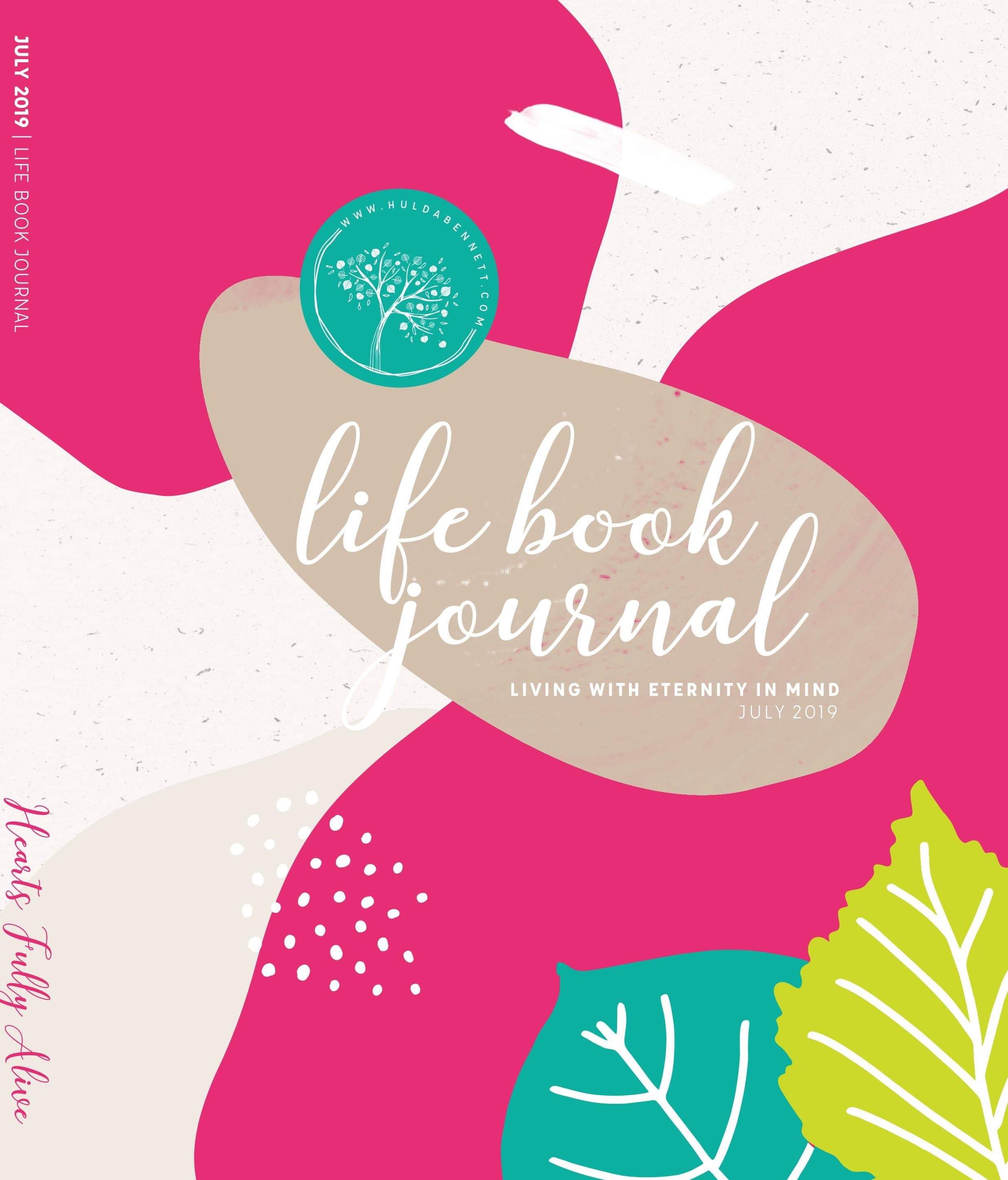 July Live Book Journal
