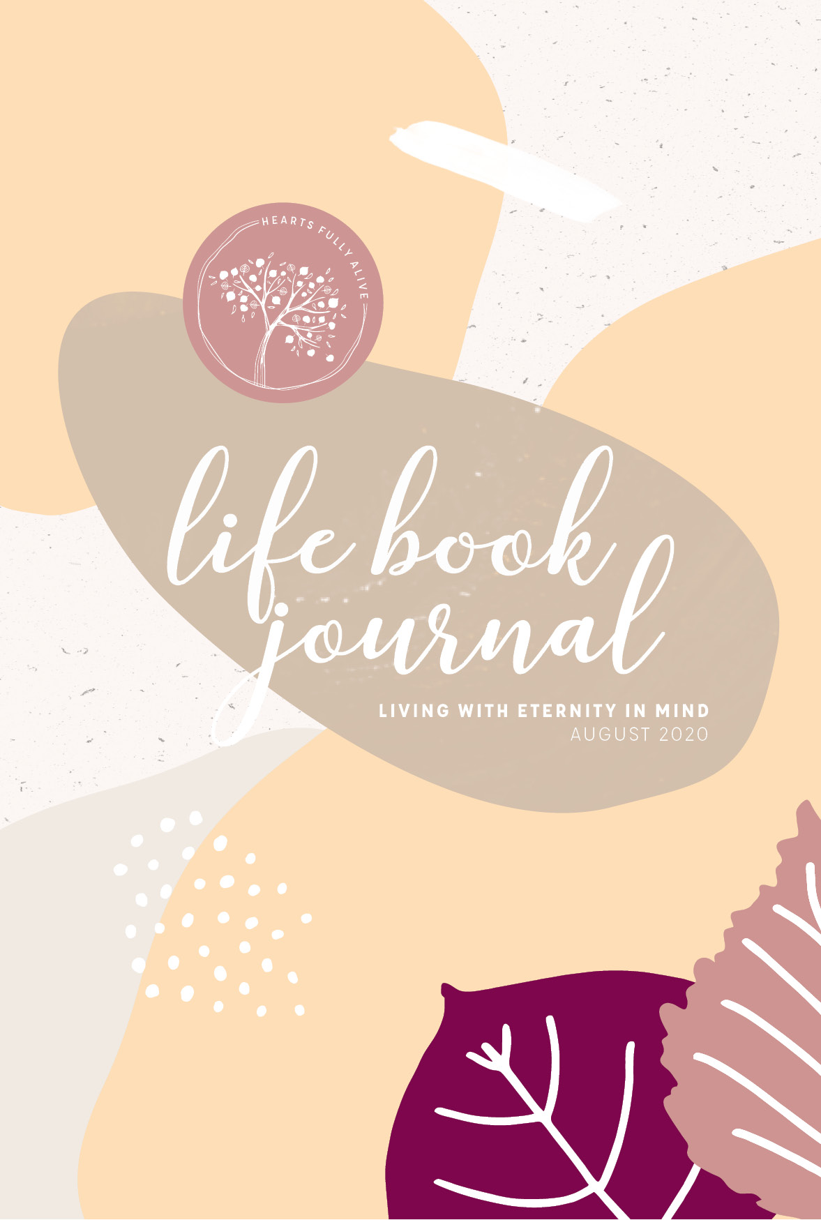 August Life Book Journal